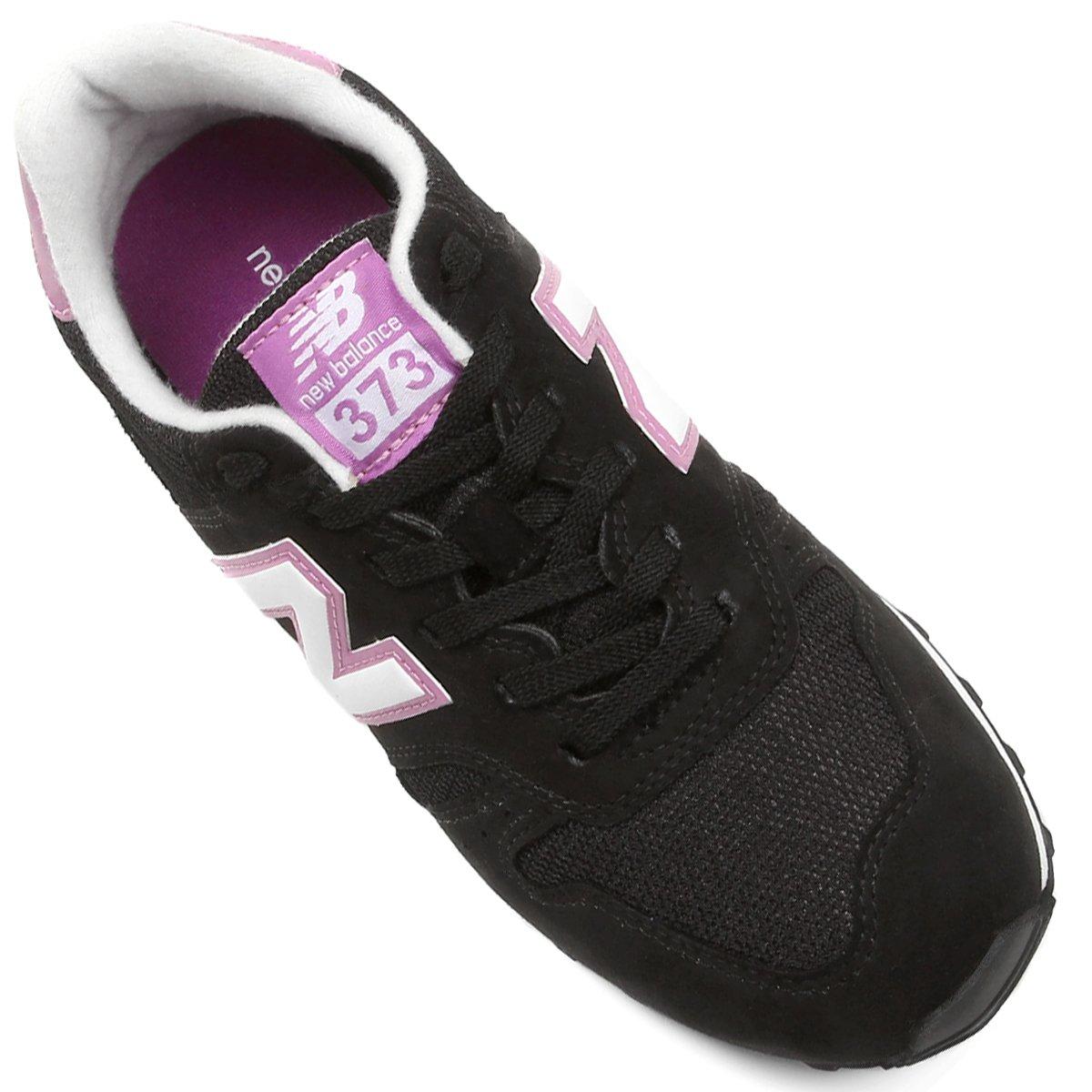 Preto Tênis Balance Tênis e Retrô New Rosa Running New 373 P0xwUqt