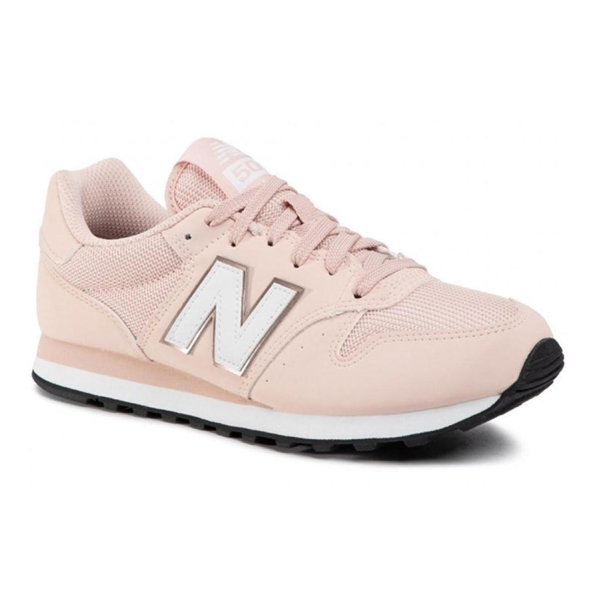 Tênis New Balance 500 Feminino - Rosa Branco   Netshoes