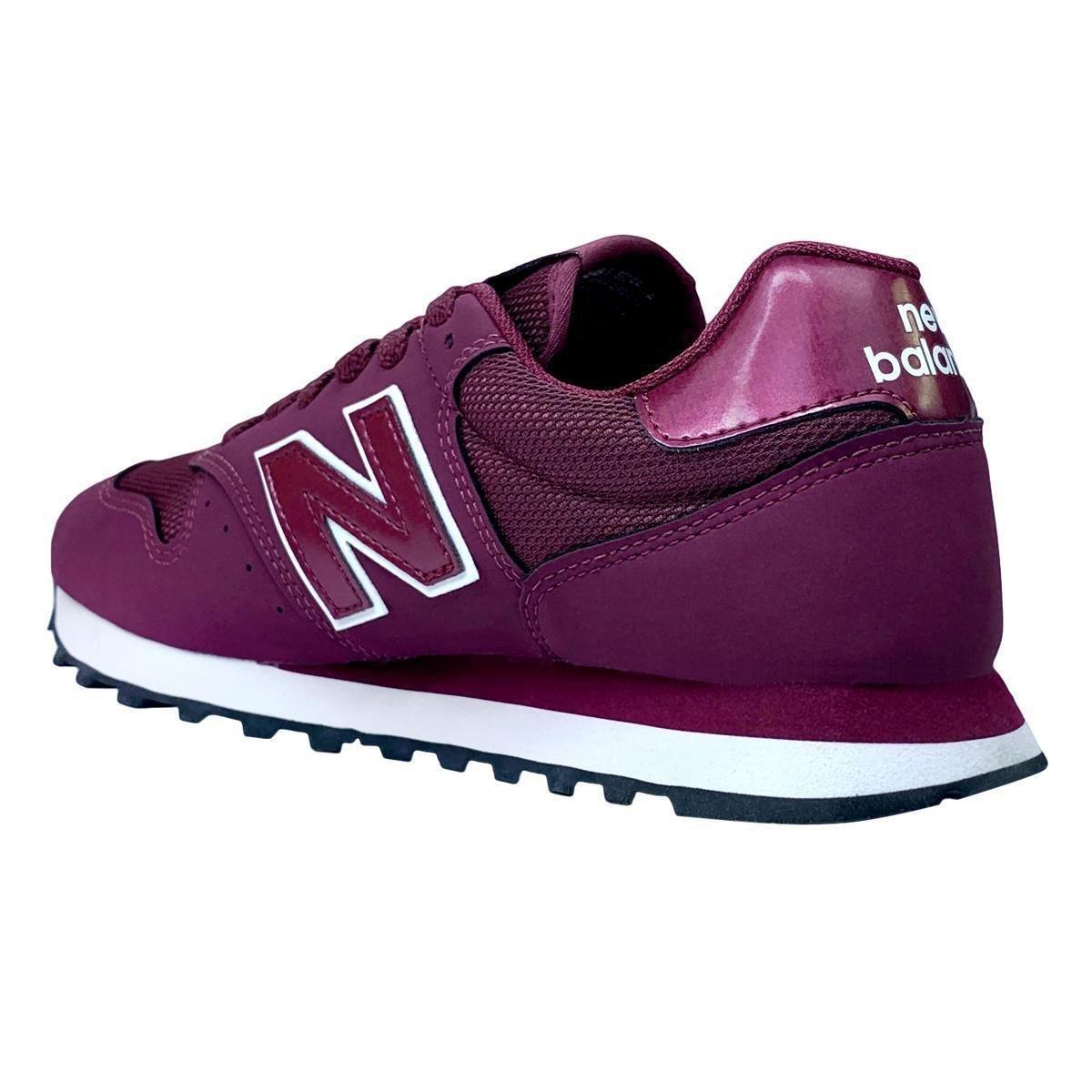 Tenis New Balance 500 Retro Running Feminino Vinho Netshoes