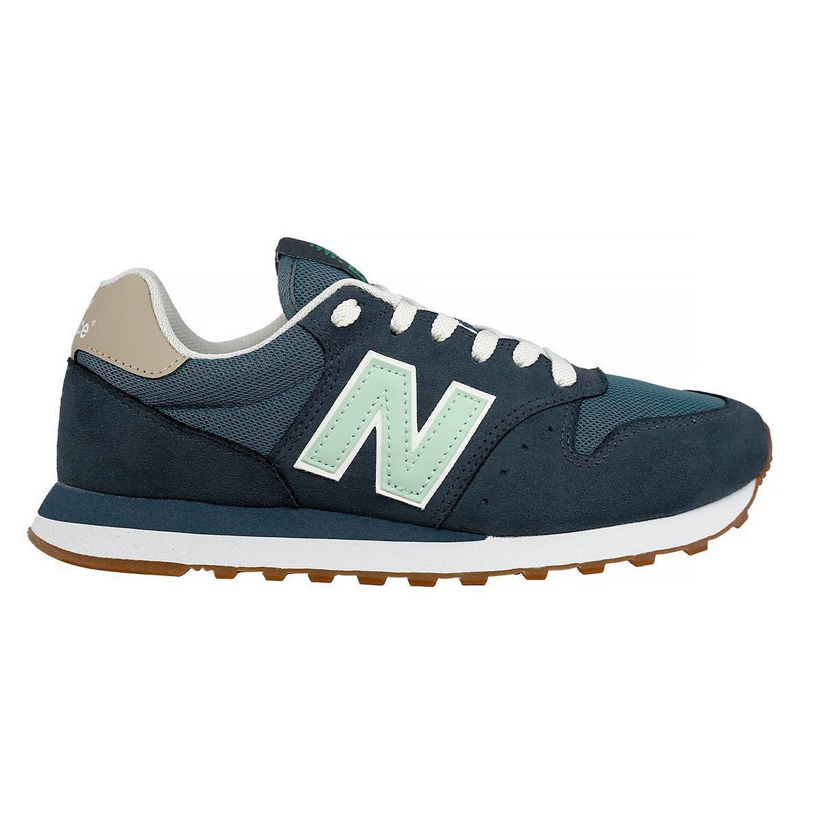 Tênis New Balance 500 - Azul Verde | Netshoes