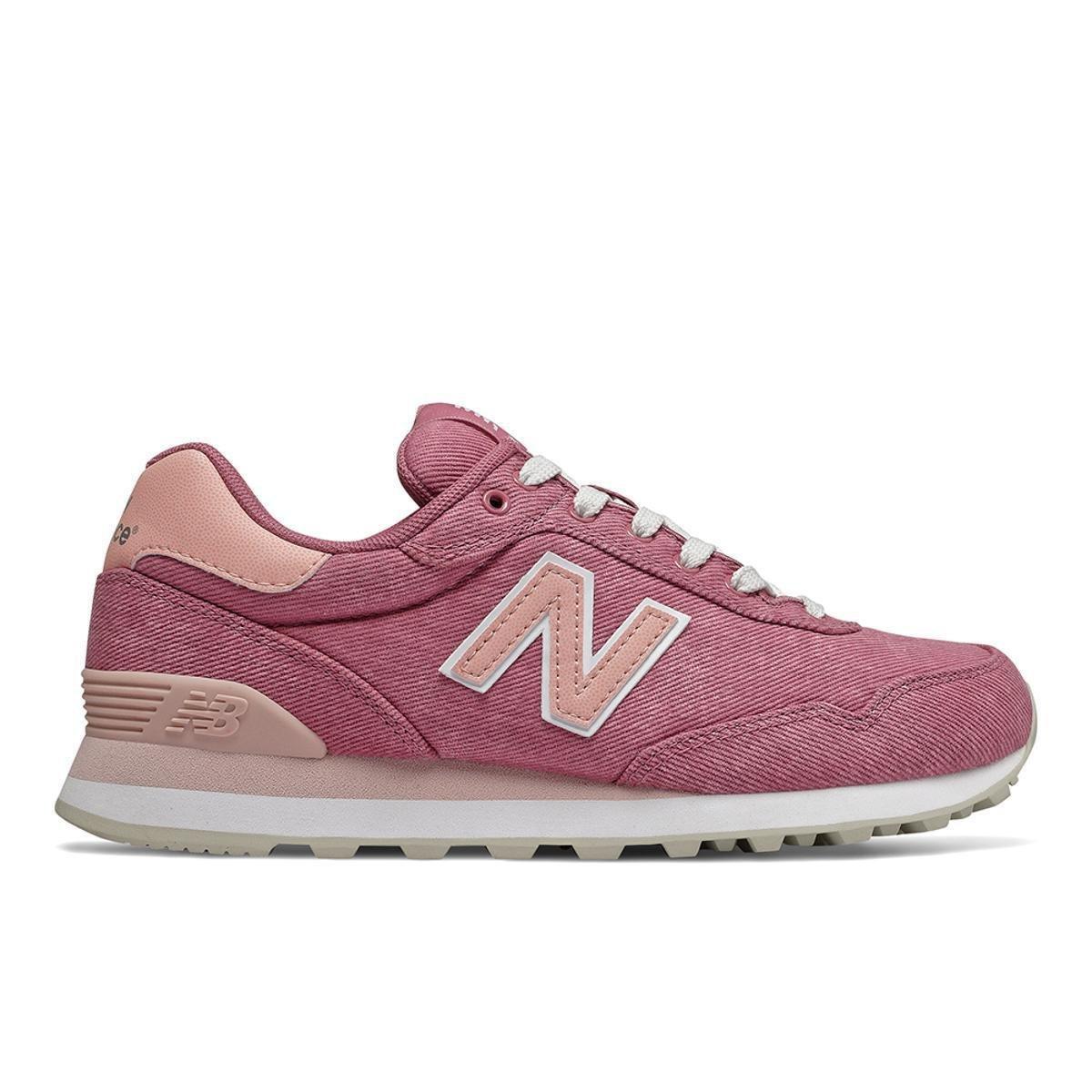 new balance 515 feminino rosa