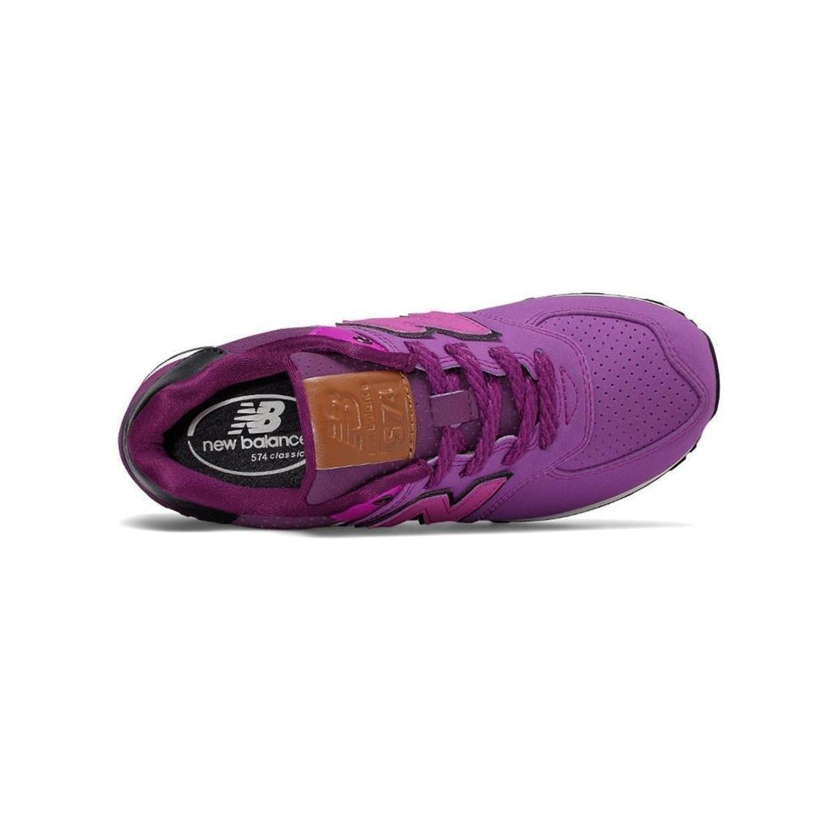 Balance New Tênis Clássico Tênis New Roxo 574 Feminino vq6at