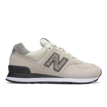 Tênis New Balance 574 - Feminino Cor: Branco+Preto