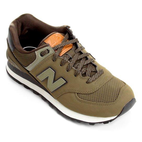 Tênis New Balance 574 Masculino - Verde Militar