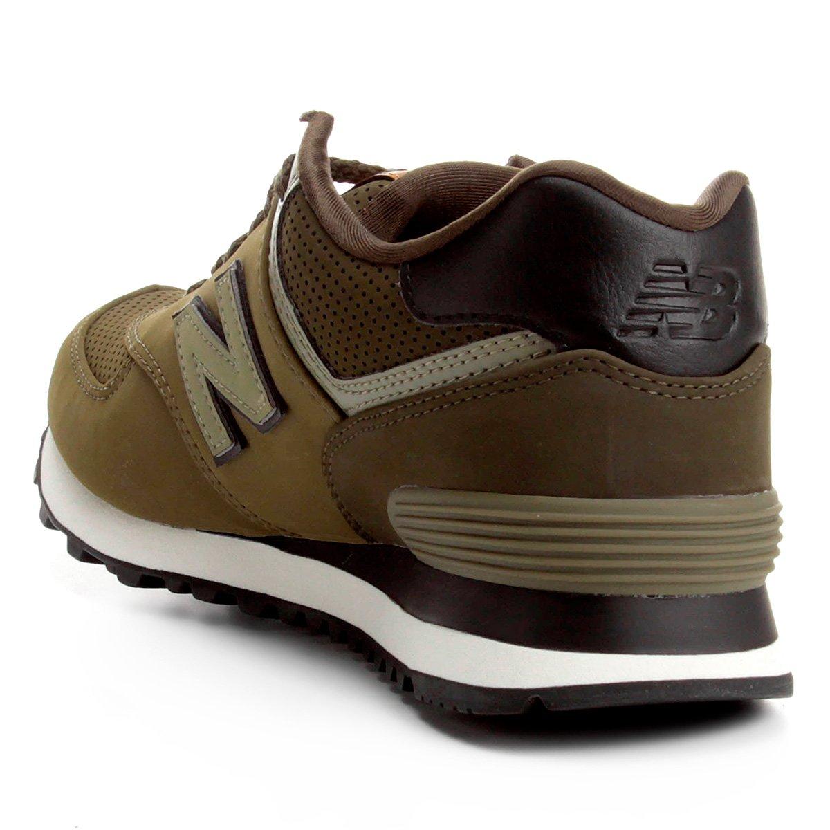 Tênis New Balance 574 Masculino - Verde Militar | Netshoes