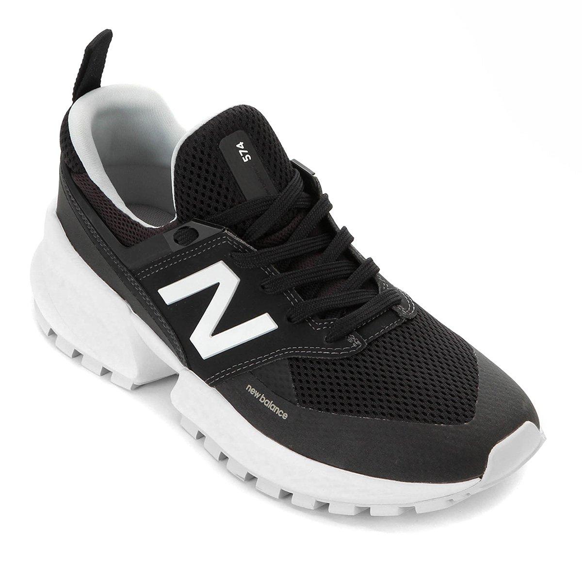 Tênis New Balance 574 Masculino - Branco Verde | Netshoes