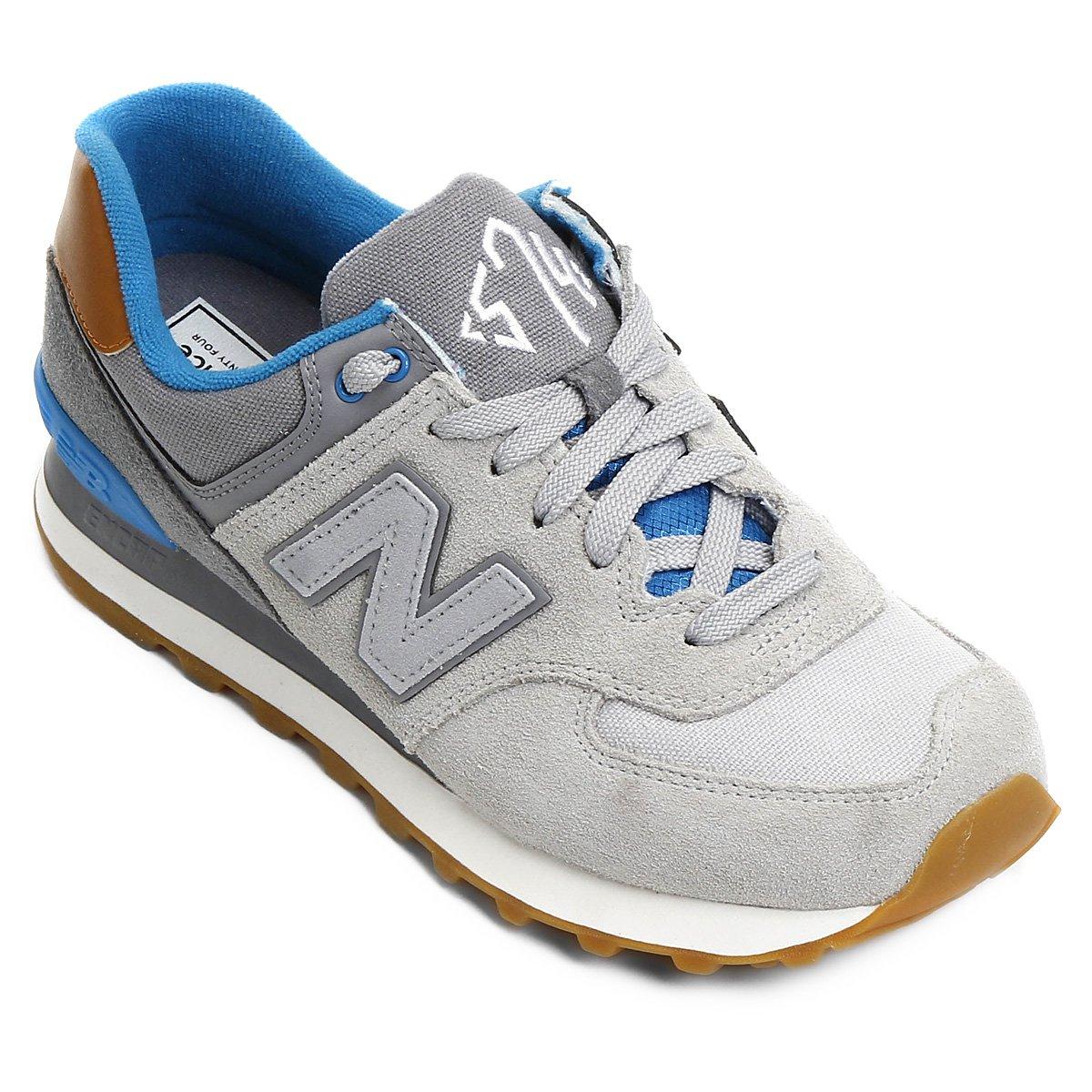6e57c8d36c4 Tênis New Balance 574 New England - Compre Agora