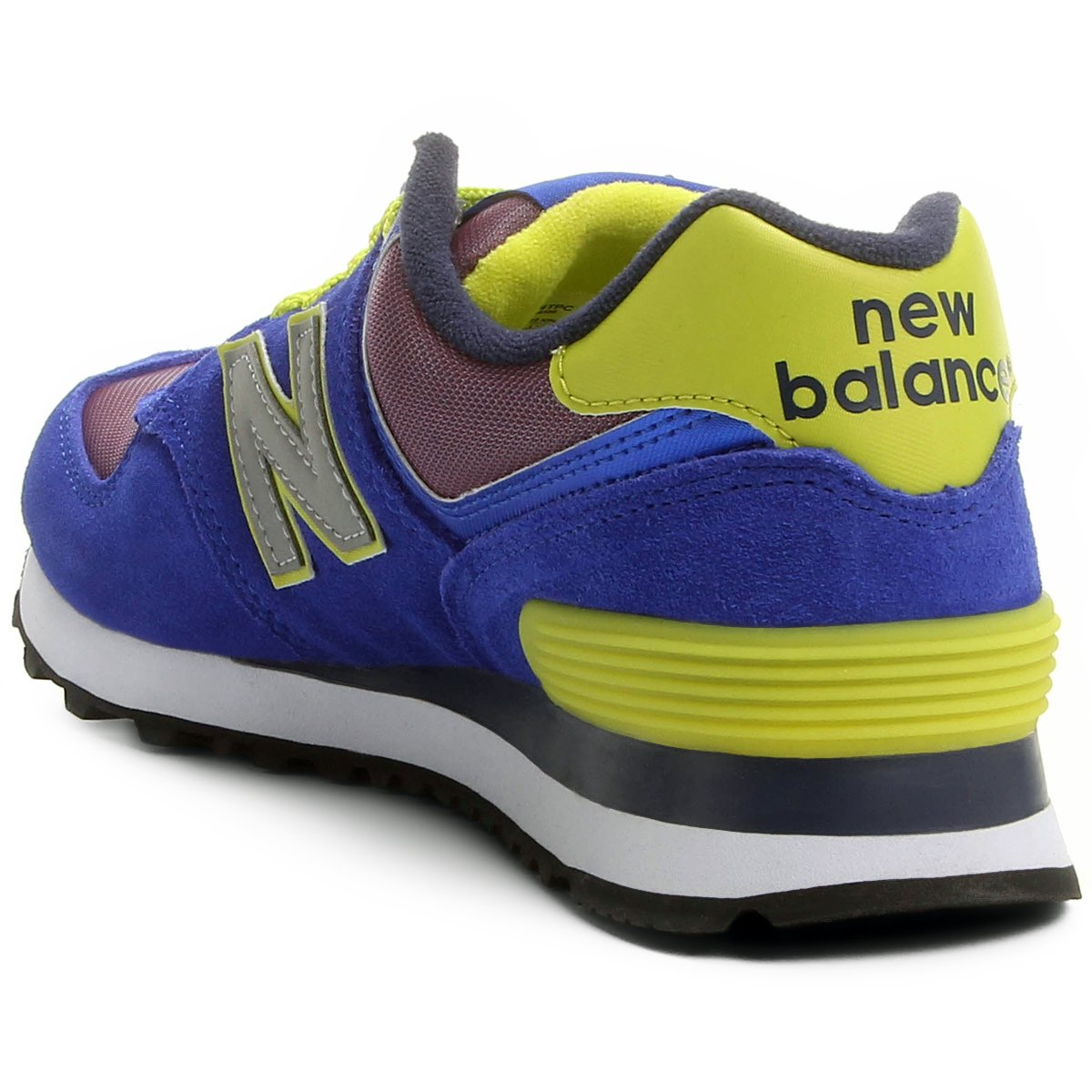 Tênis New Balance 574 Tiki - Azul e Cinza - Compre Agora   Netshoes 4389d1438c