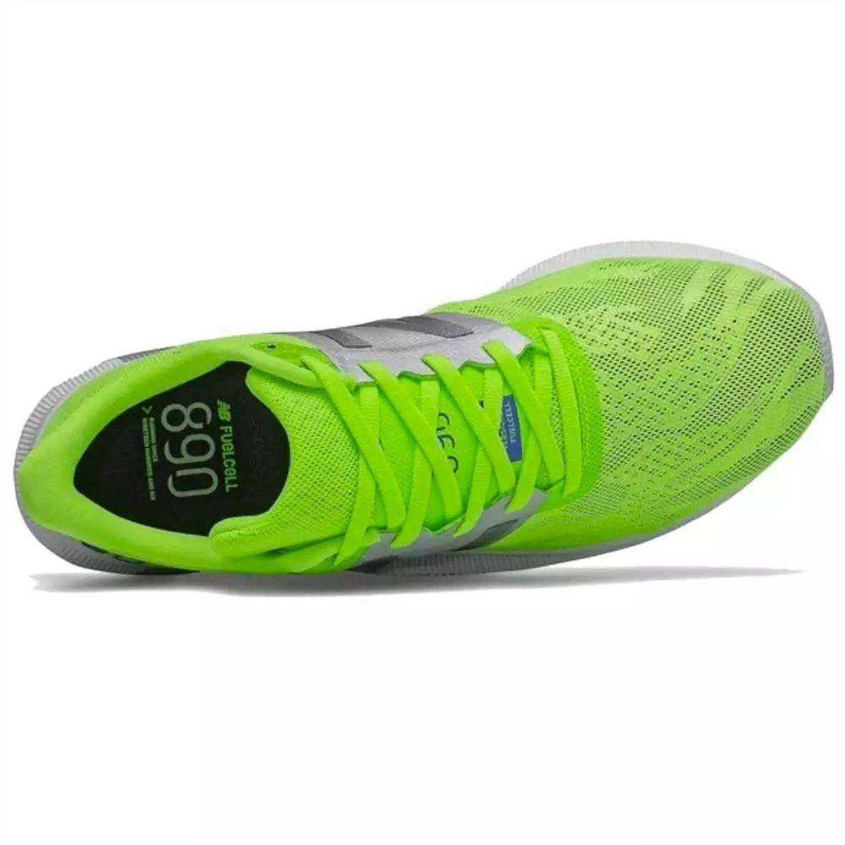 Tenis New Balance 890 V8 Masculino - Verde Limão   Netshoes