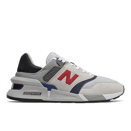 Tênis New Balance 997 Sport   Casual Masculino - Branco