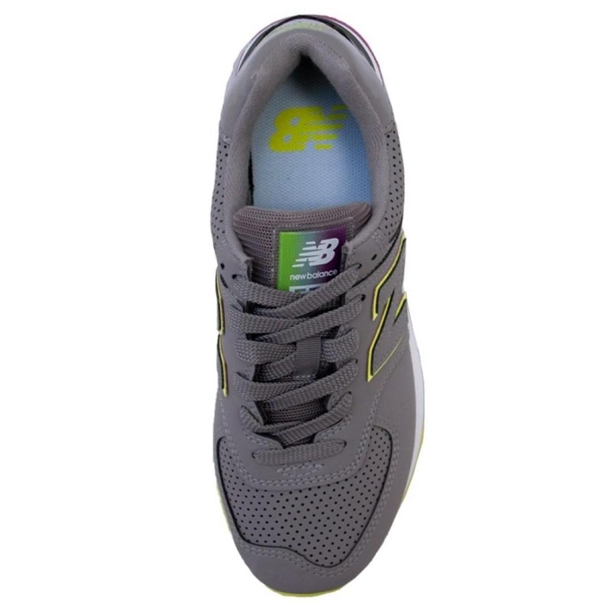 Tênis New Balance Feminino 574 Lifestyle - Preto verde | Netshoes