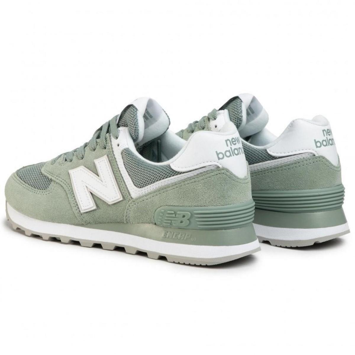 Tênis New Balance Feminino 574 Lifestyle - Verde | Netshoes