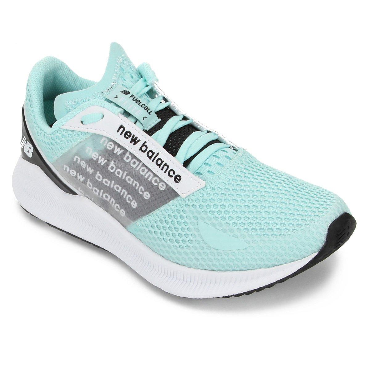 Tênis New Balance Fuelcell Flite Feminino - Verde água   Netshoes