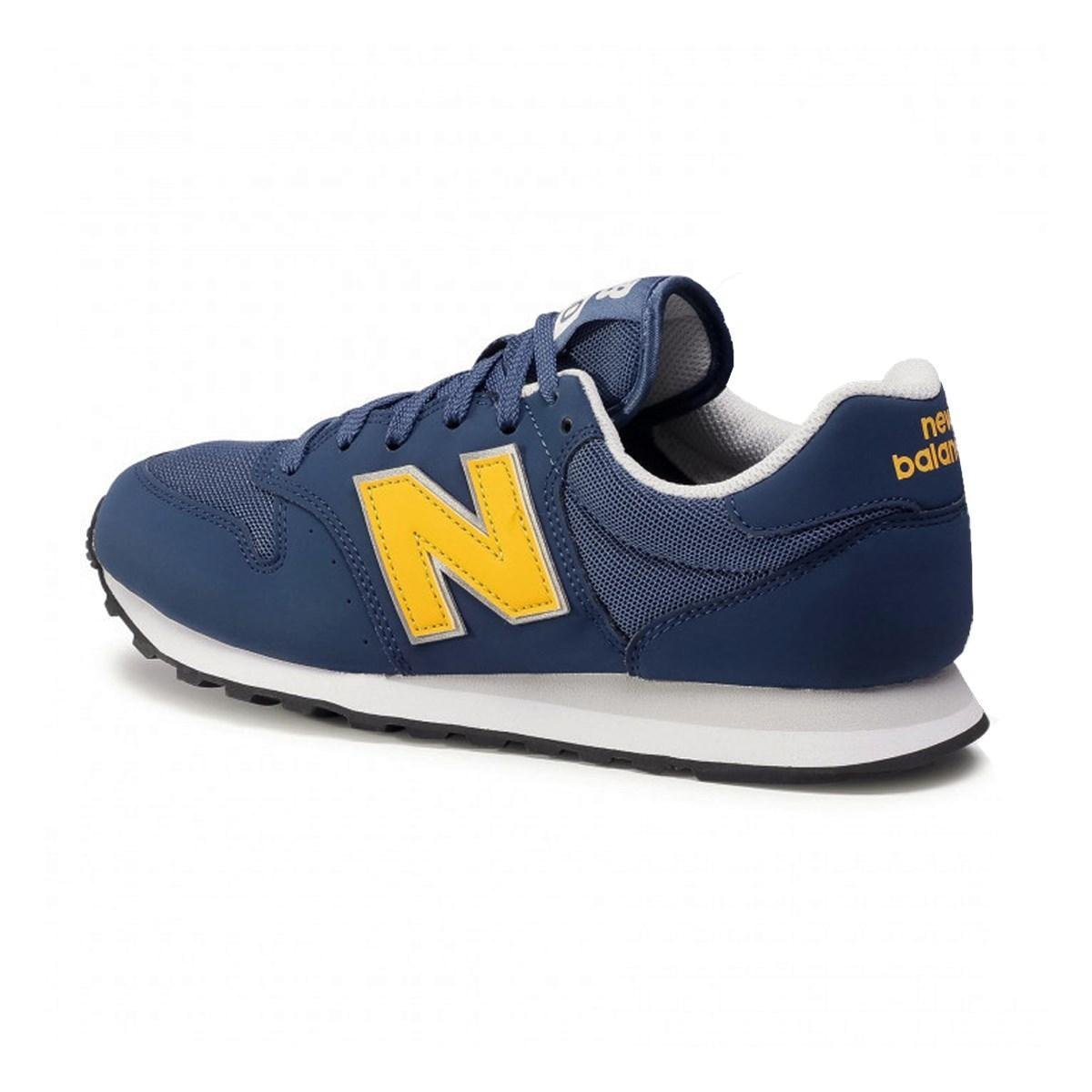 Tênis New Balance Masculino - Azul Verde Limão | Netshoes