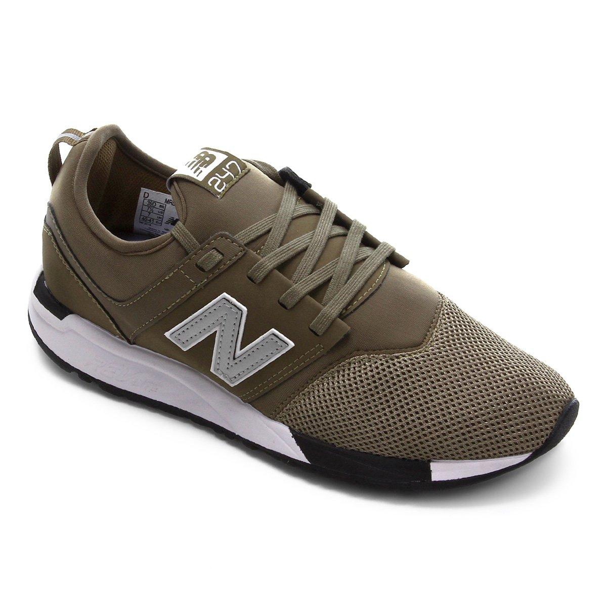 Tênis New Balance MRL247 Masculino - Verde Militar | Netshoes
