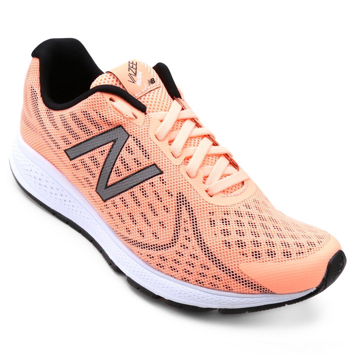 Tênis New Balance Feminino Tênis Preto Rush New e Balance Salmão V2 ww1fHrq