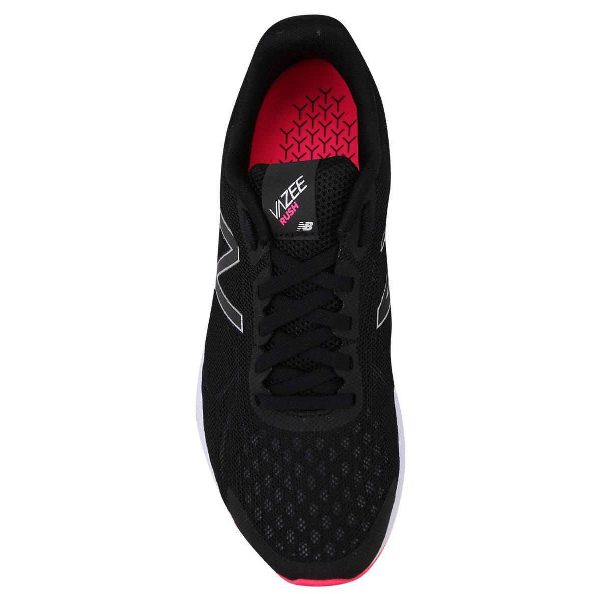 d8475acc62 Tênis New Balance Rush V2 Feminino - Preto e Pink - Compre Agora ...