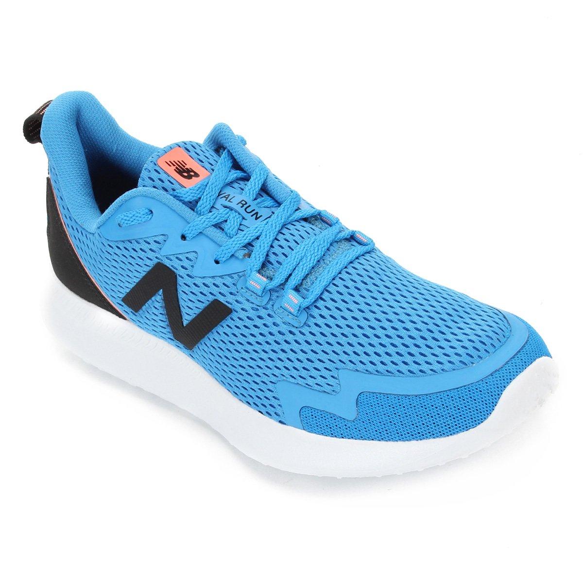 new balance azul e branco
