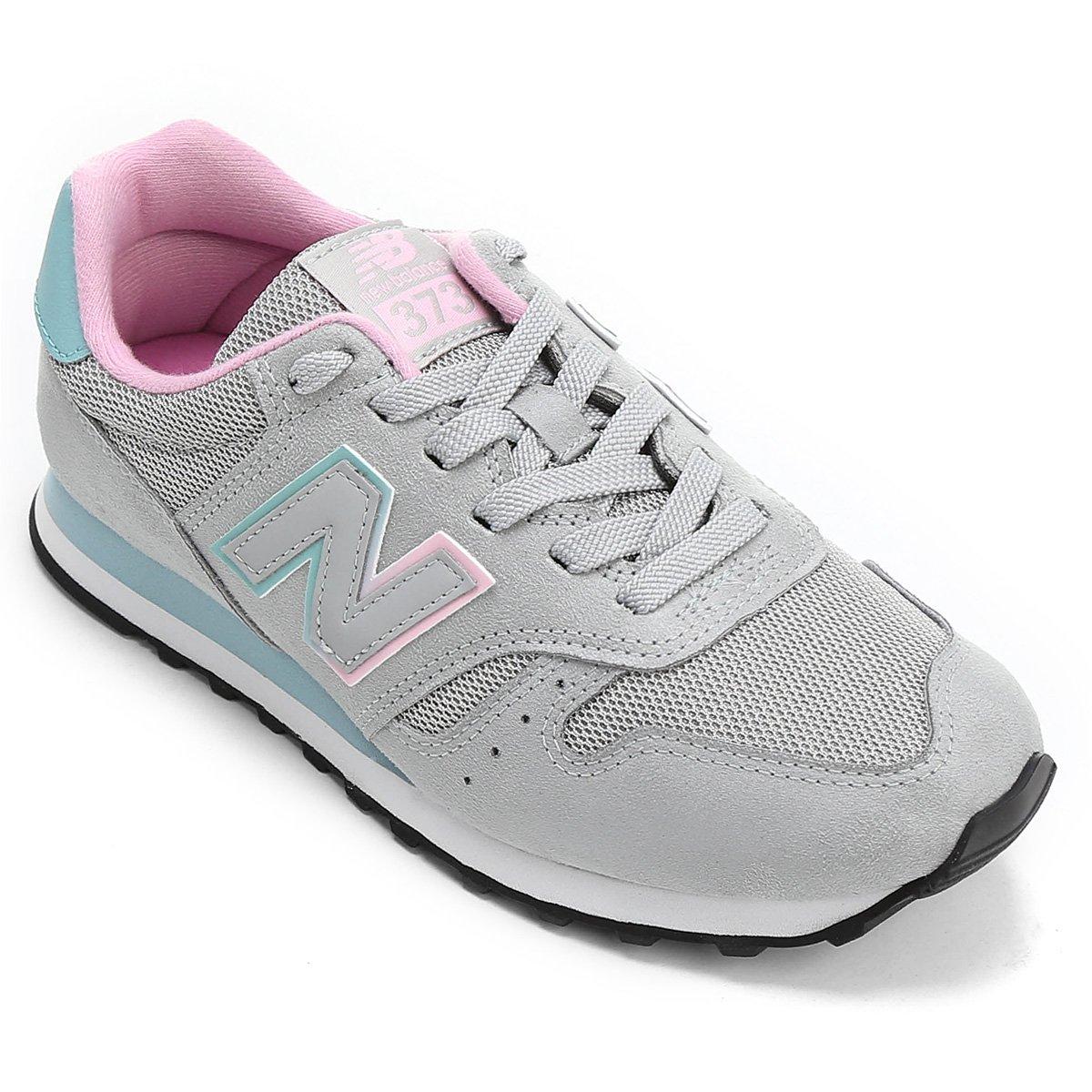 new balance 373 donna nero e rosa