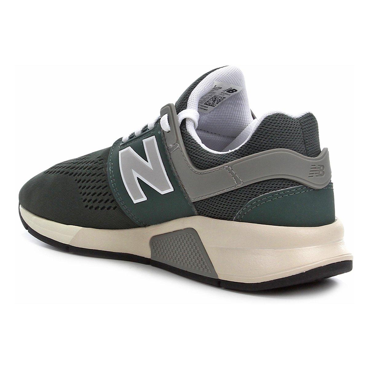 Tênis New Balance WS247 I Feminino - Verde escuro Cinza | Netshoes