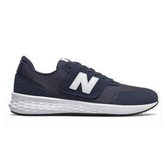 Tênis New Balance X70 Masculino - Bege+Preto - 44