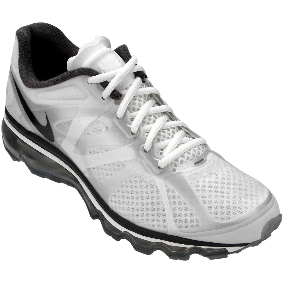 buy best good service huge sale Tênis Nike Air Max+ 2012 - Branco e prata