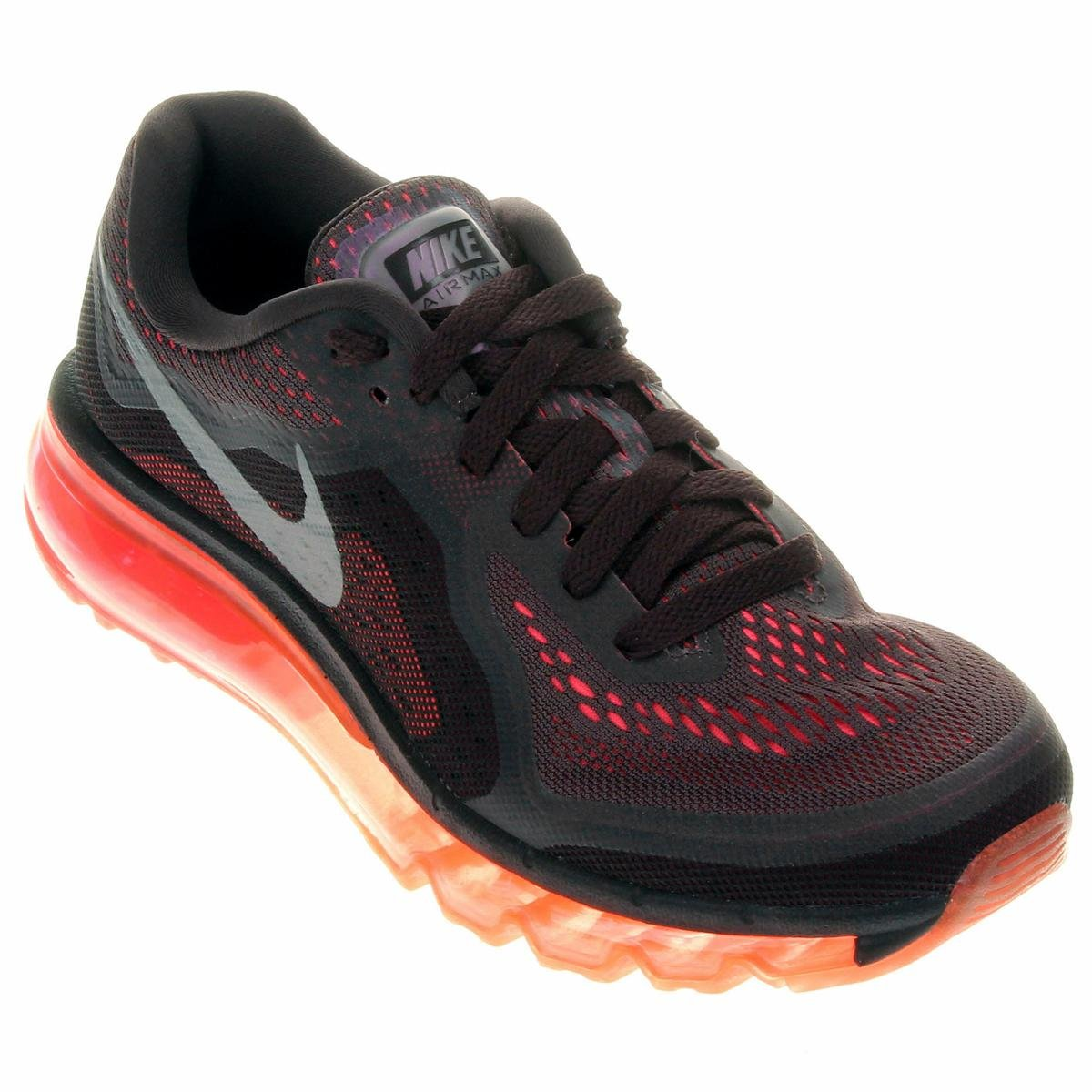 Tênis Nike Air Max 2014 Chumbo e Vermelho