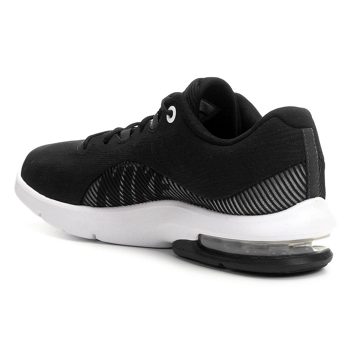 2 Max Advantage Air Preto Branco Tênis e Feminino Nike qwOTfS