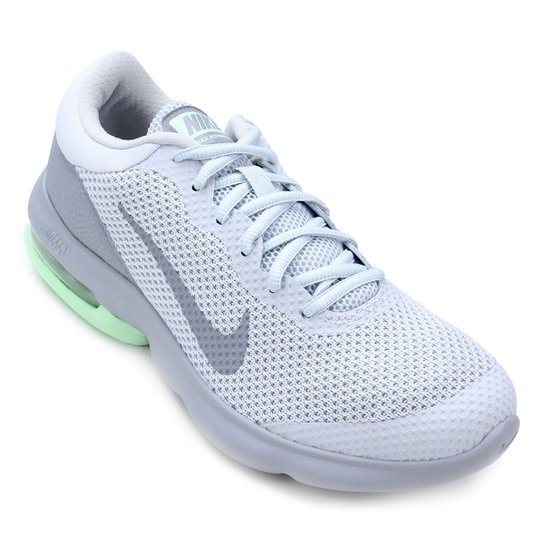 Tênis Nike Air Max Advantage Feminino - Prata+Cinza