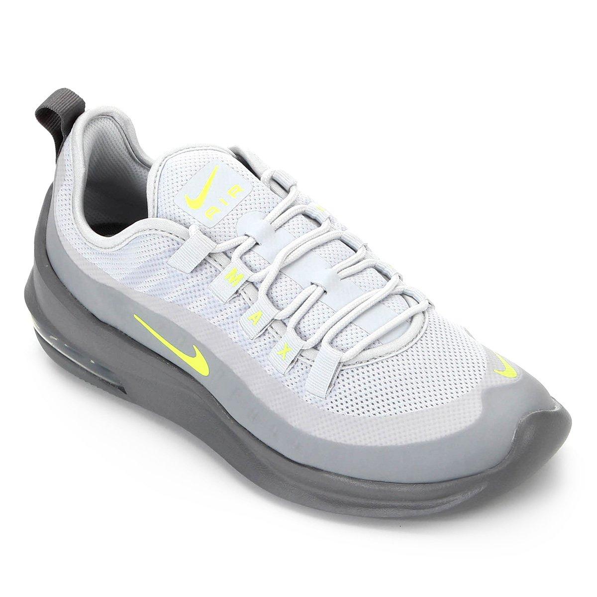 mejor servicio 671f0 46dd8 Tênis Nike Air Max Axis Masculino - Cinza