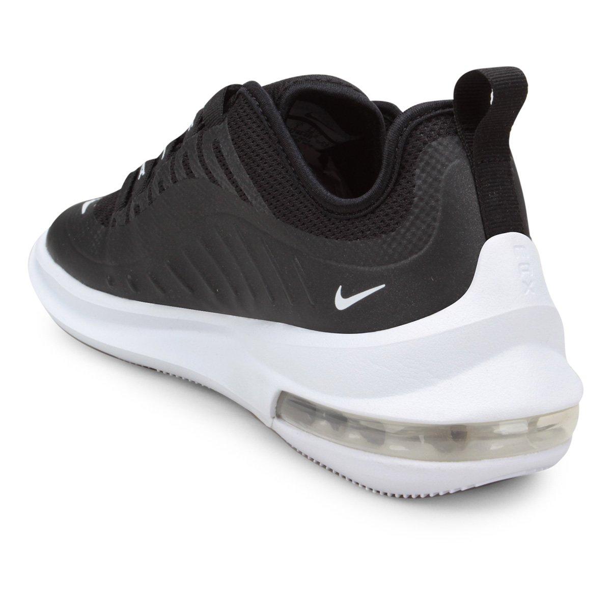 Tênis Nike Air Max Axis - Branco e Preto - Compre Agora  40889f4662974