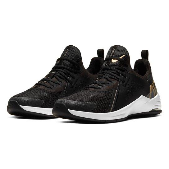 Tênis Nike Air Max Bella Tr 3 Feminino - Preto+Branco