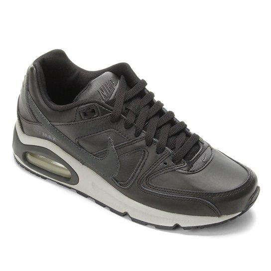 Tênis Nike Air Max Command Leather Masculino - Preto+Cinza