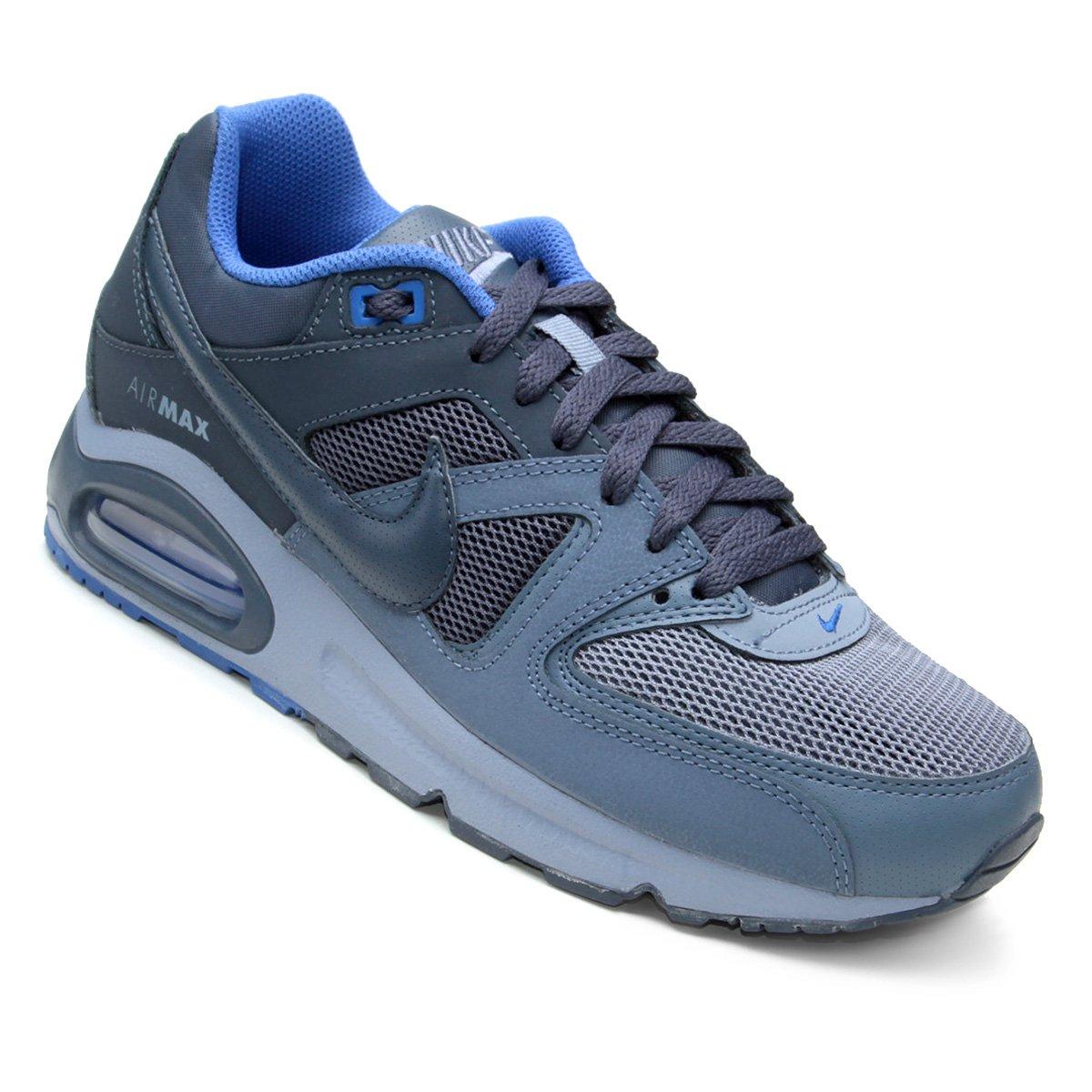 4a00a478fbc Tênis Nike Air Max Command Masculino - Azul - Compre Agora
