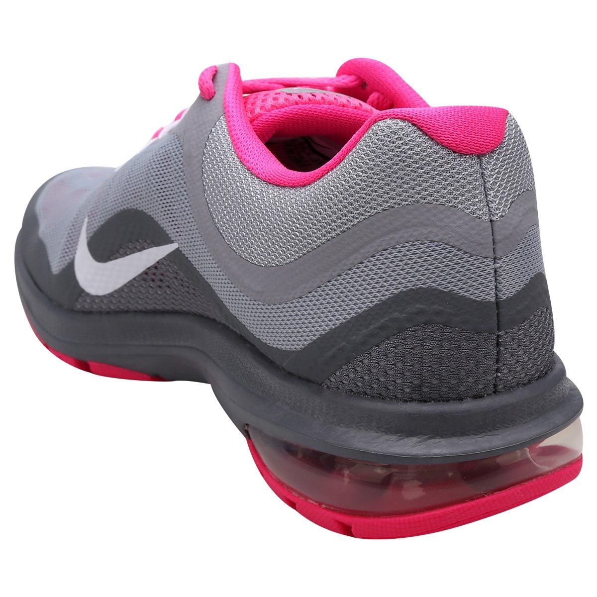 Tênis Nike Air Max Dynasty 2 Feminino - Grafite e Pink - Compre ... d94834c59048a