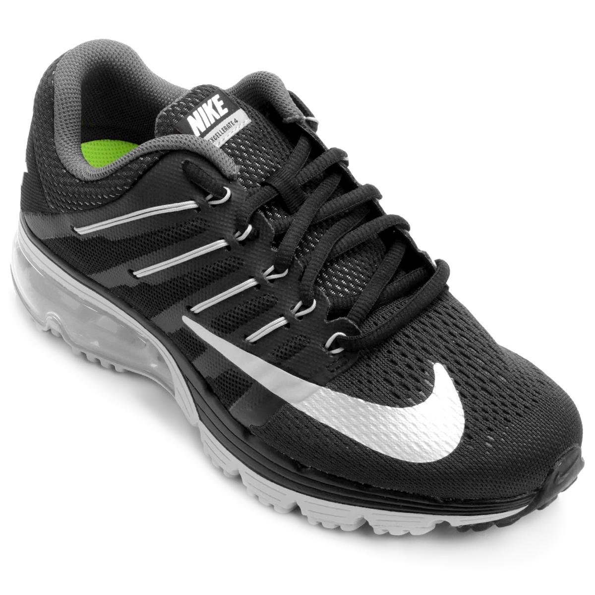 Prata Excellerate Feminino Max e 4 Tênis Nike Preto Air pq8Zwx7zP