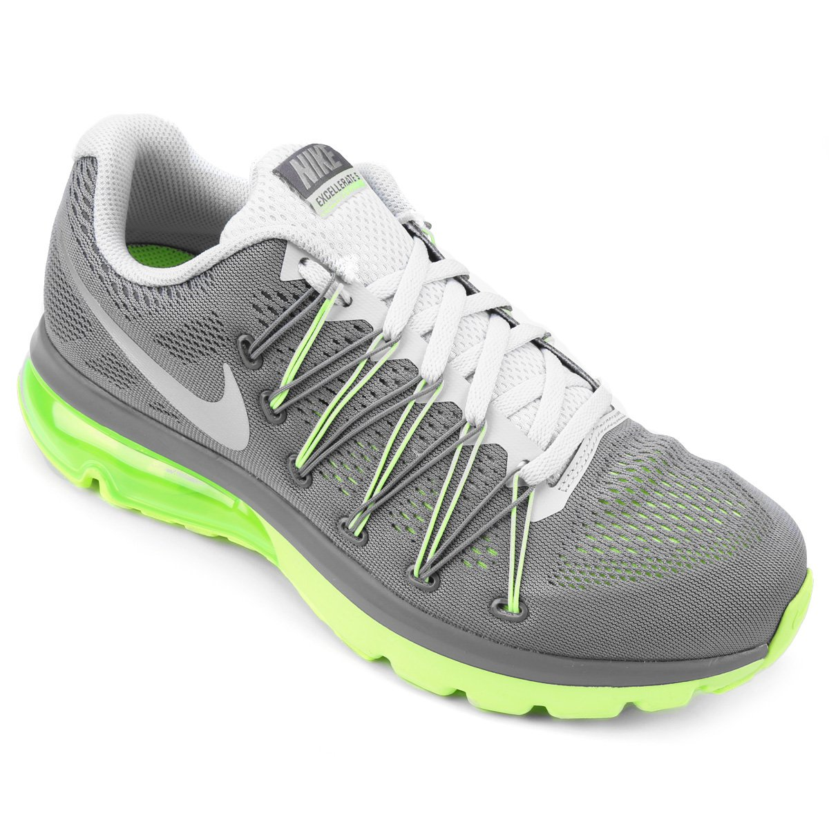 5f8c9534d3f coupon for tênis nike air max excellerate 5 masculino cinza e verde l 77f52  cb7d0