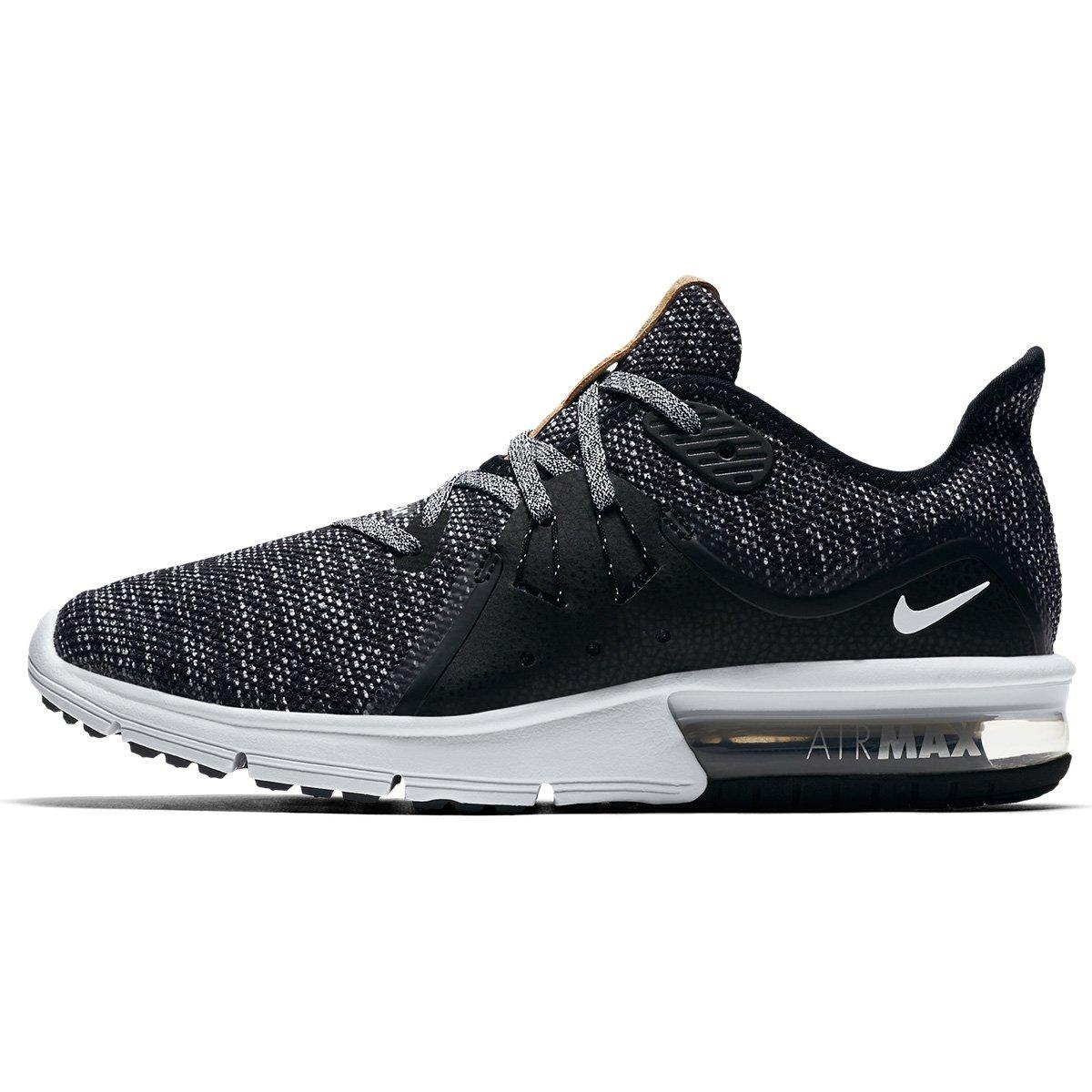 Tênis Nike Air Max Fury Sequent 3 Feminino - Preto e Branco - Compre ... 8a683c84ddd0a
