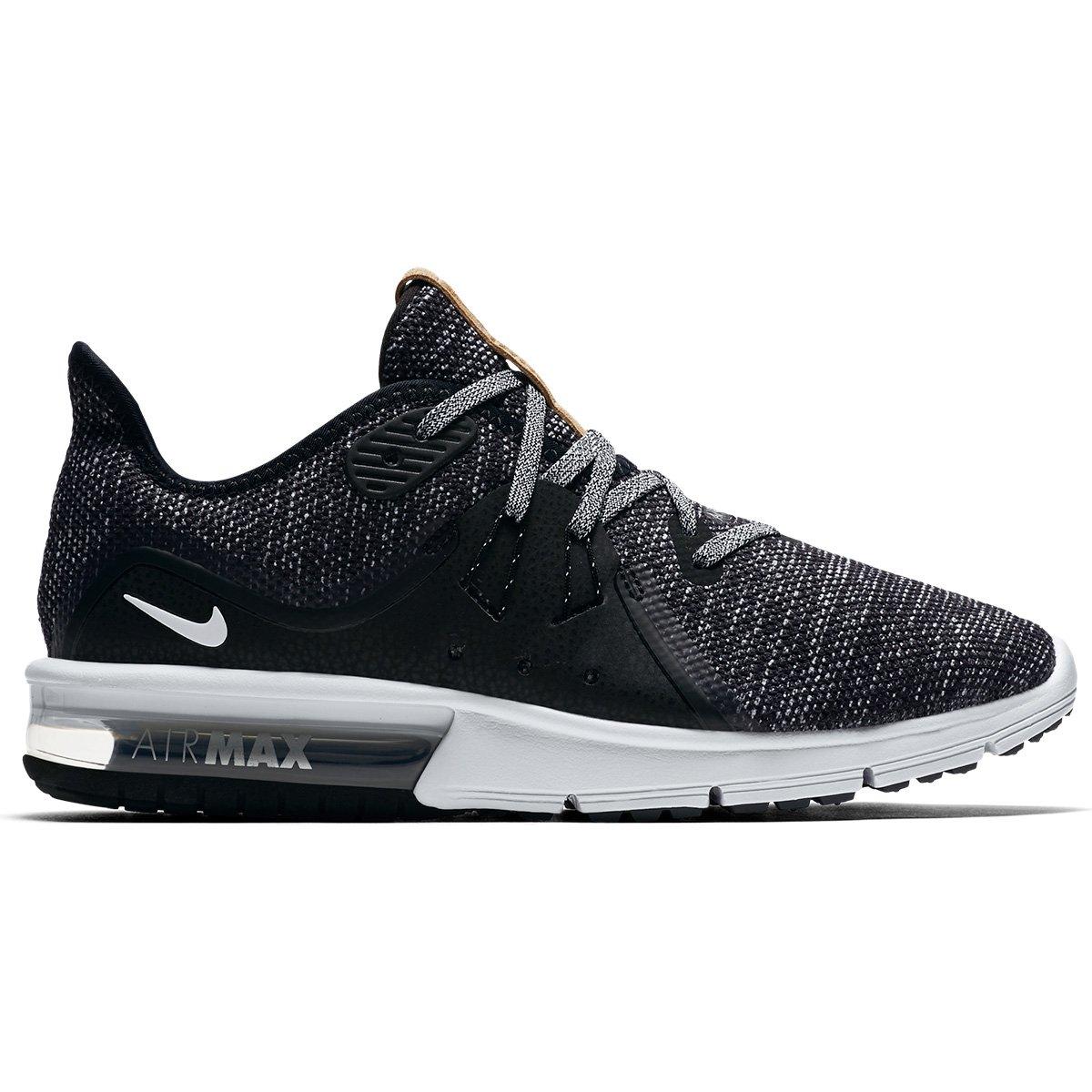 Tênis Nike Air Max Fury Sequent 3 Feminino - Preto e Branco - Compre . fb6b843c74919