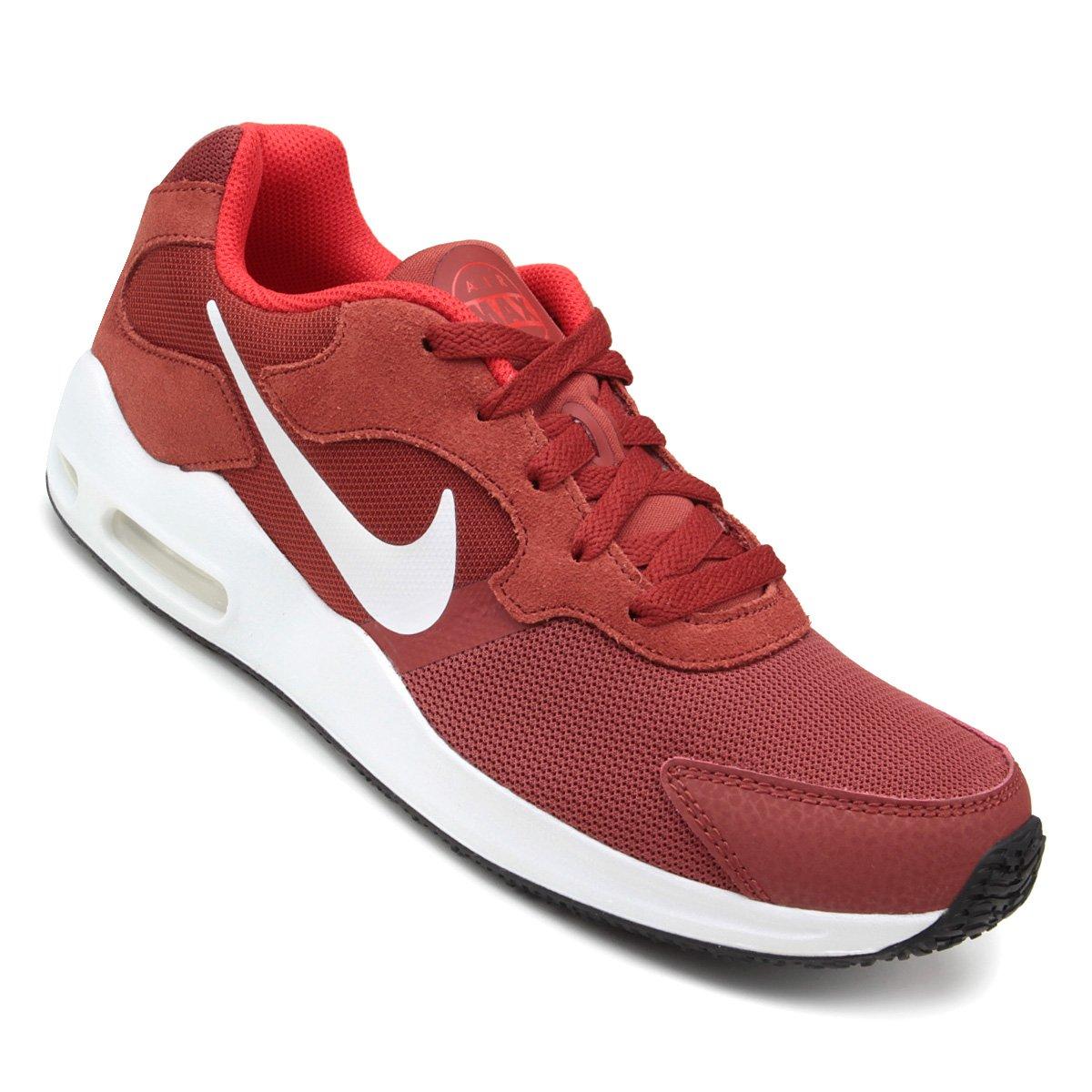 dc2a9ee16a6c4 Tênis Nike Air Max Guile Masculino - Vermelho Escuro - Compre Agora ...