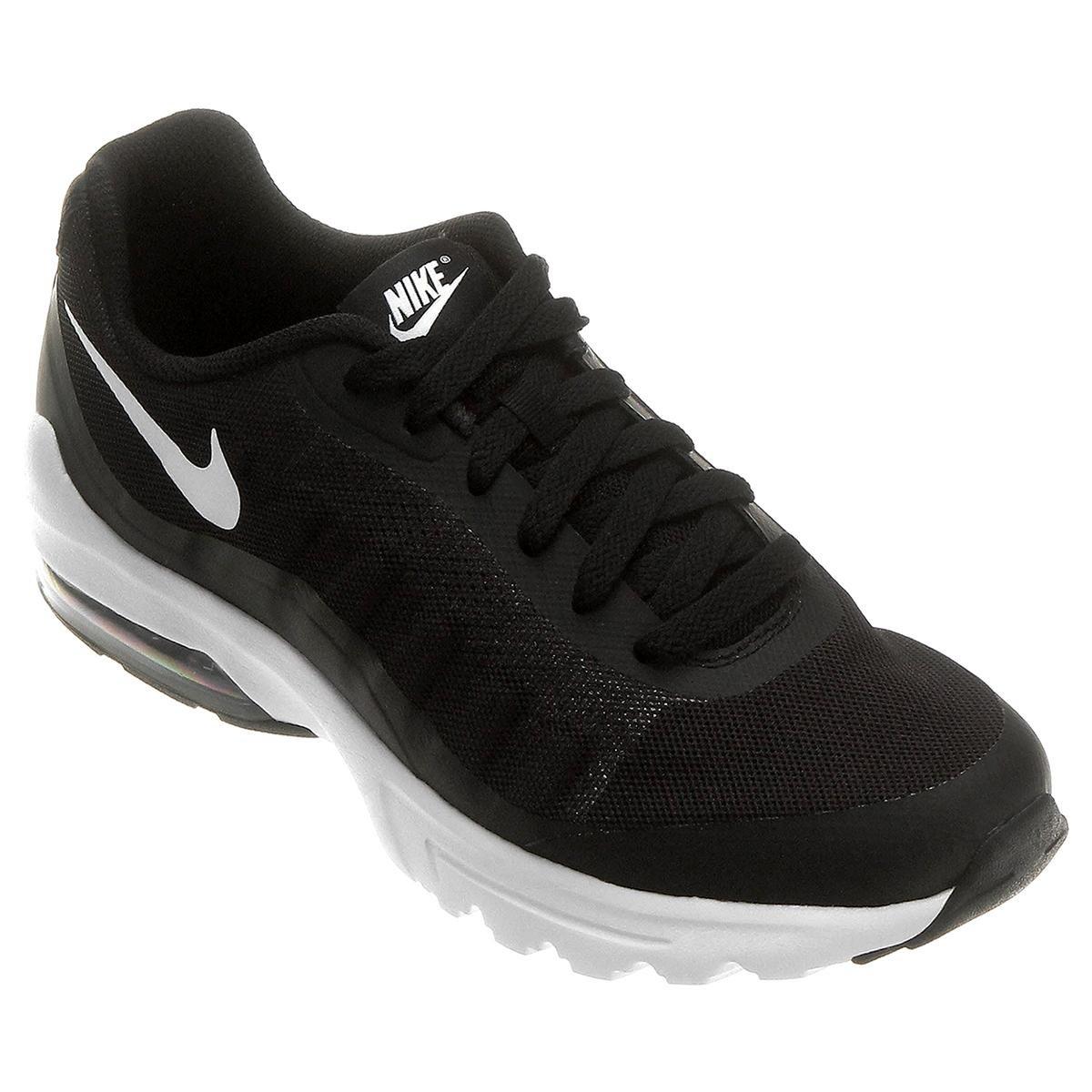 low priced 11d79 9ea84 Tênis Nike Air Max Invigor Masculino - Preto e Branco - Compre Agora   Netshoes