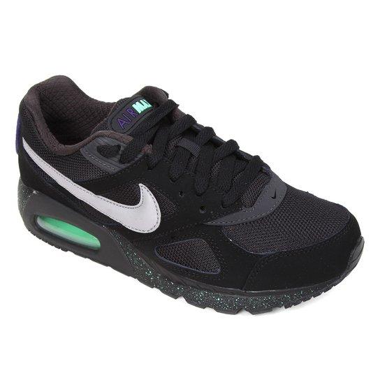 Tênis Nike Air Max Ivo Masculino - Preto+verde