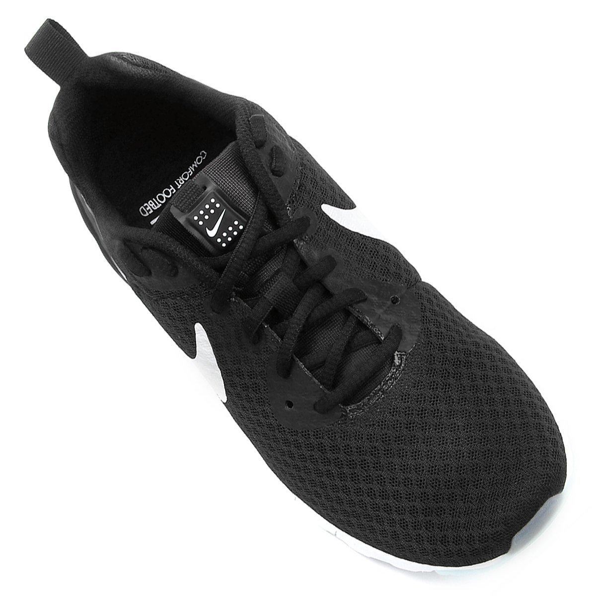 Lw Branco Feminino Motion Tênis Nike e Preto Max Air anqavx8I