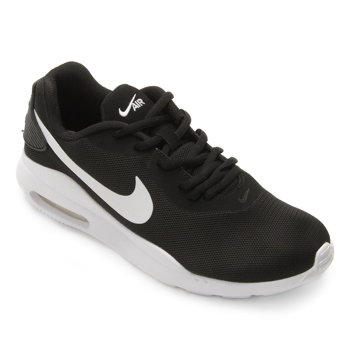 Tênis Nike Air Max Oketo Feminino Preto E Branco