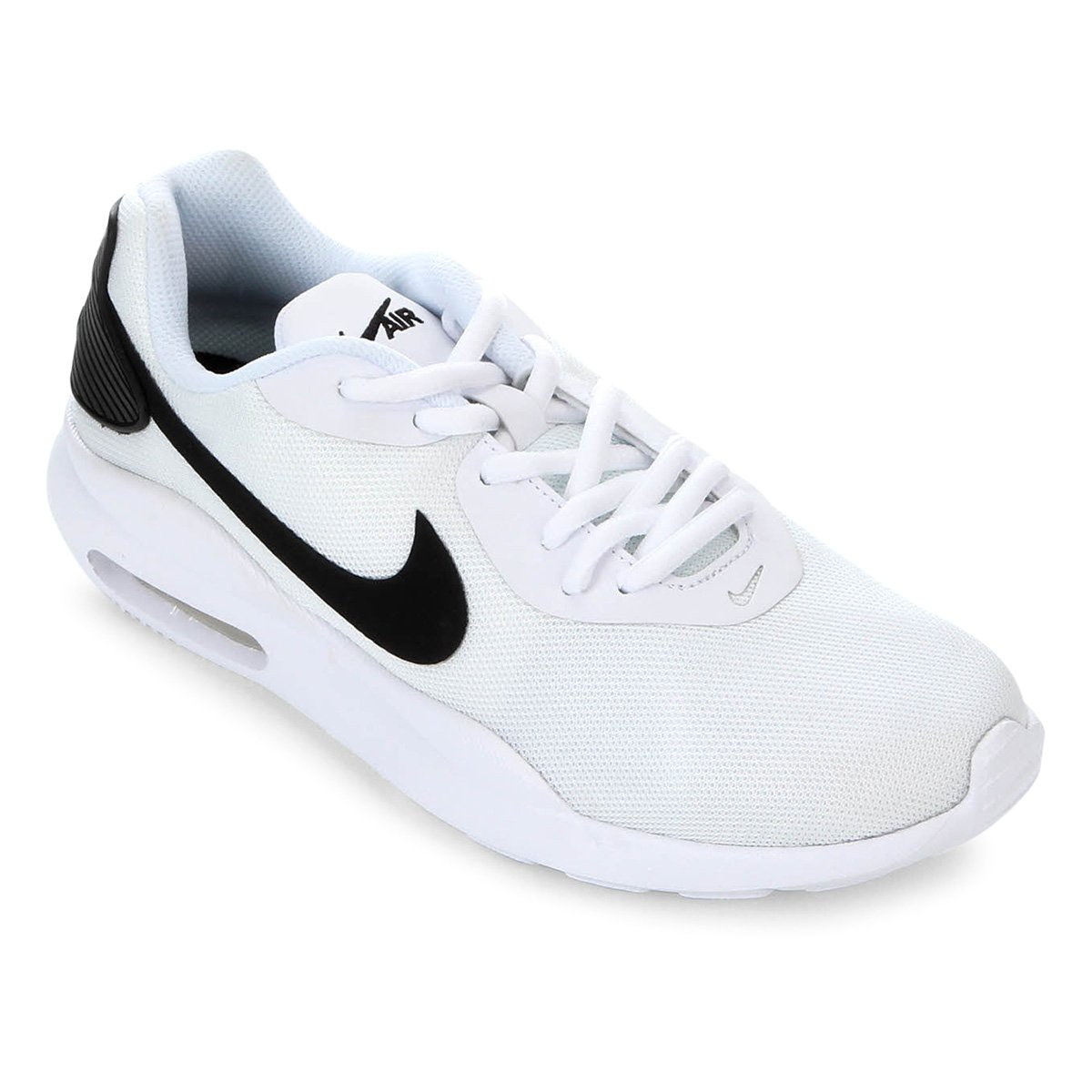 Tênis Nike Air Max Oketo Feminino Branco E Preto