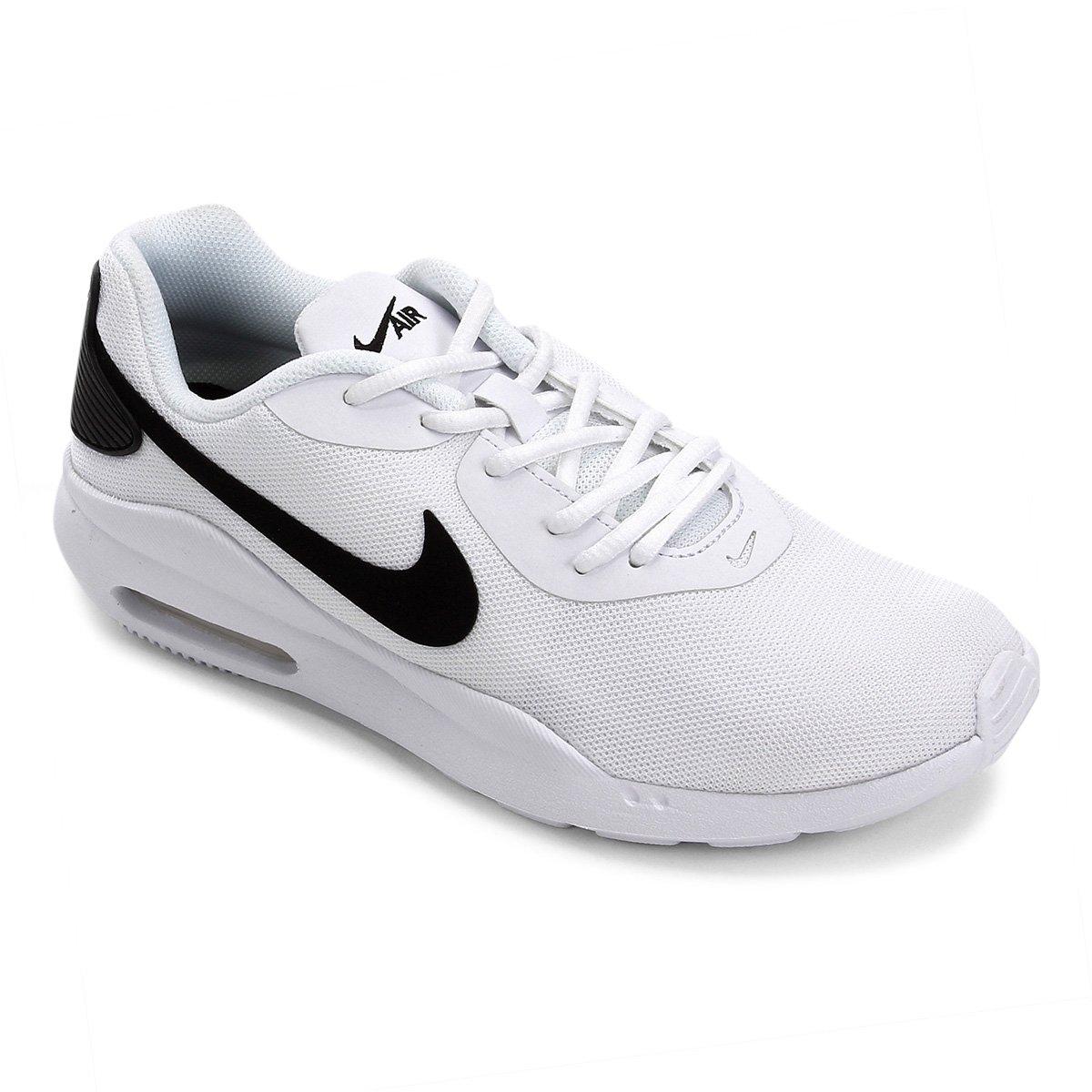 62903d132 Tênis Nike Air Max Oketo Masculino - Branco e Preto - Compre Agora ...