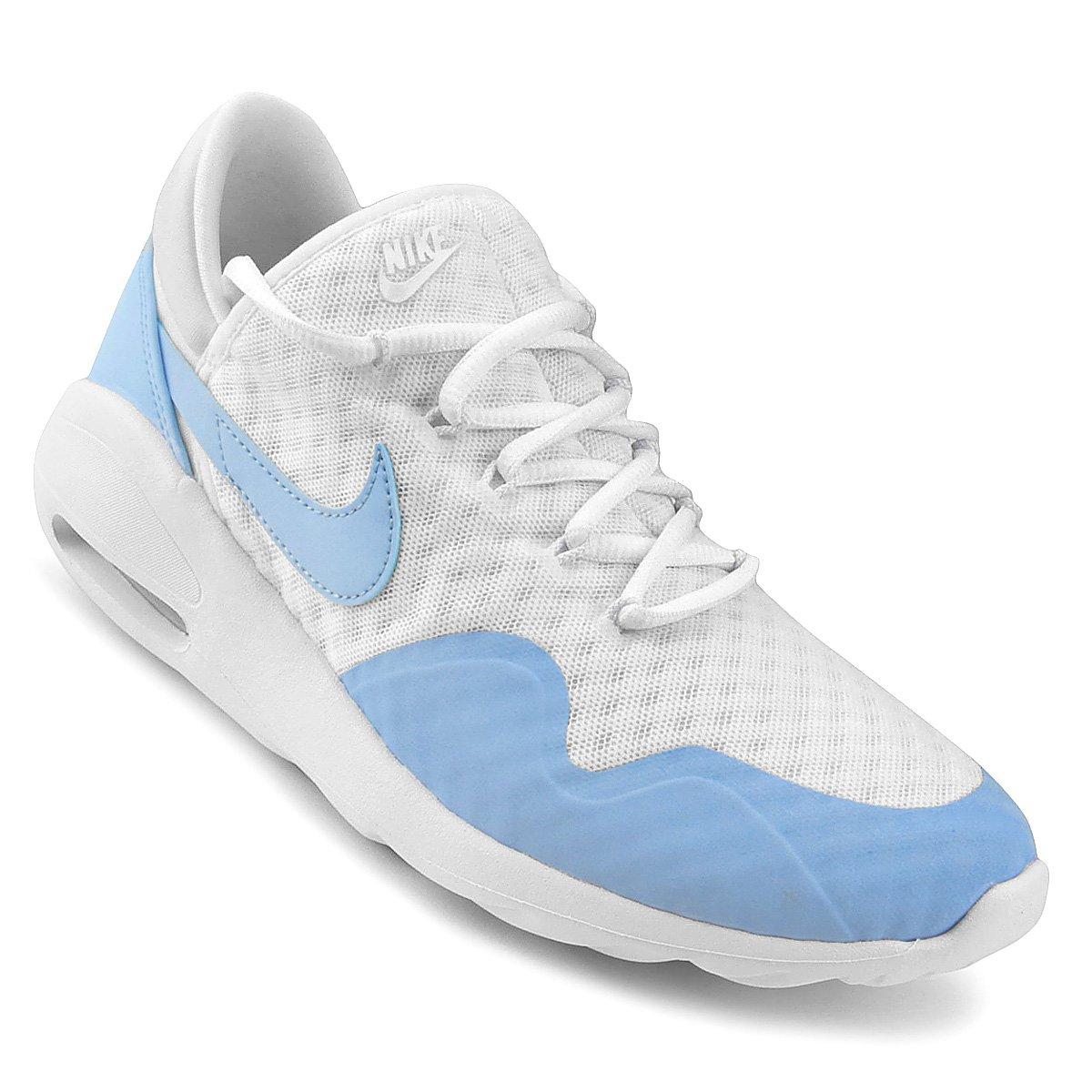 Tênis Nike Air Max Sasha Feminino Branco E Azul
