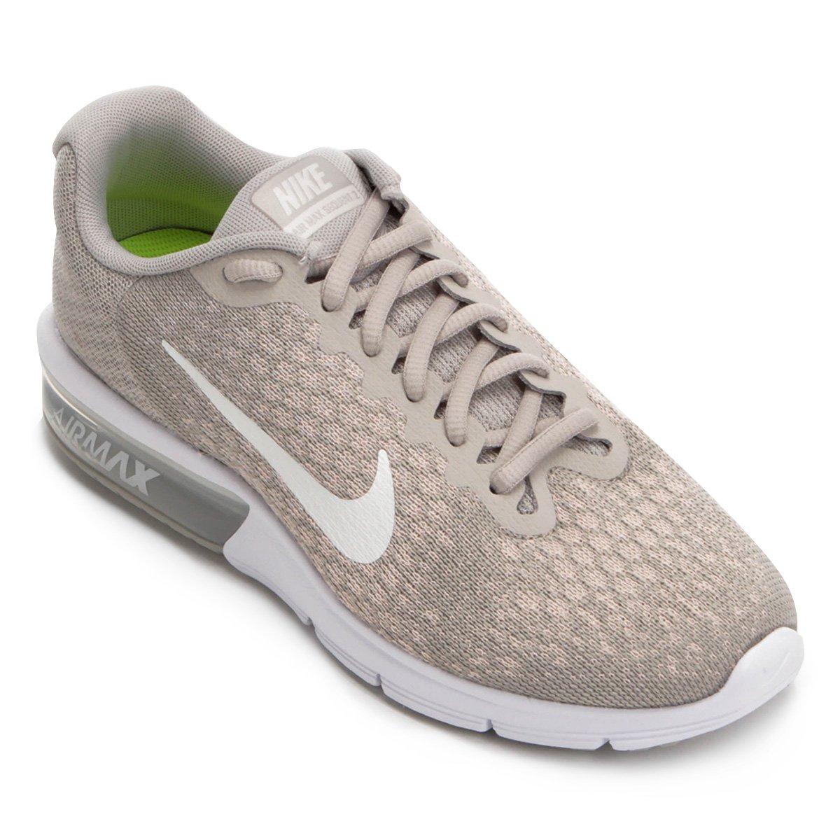 Tênis Nike Air Max Sequent 2 Feminino Cinza