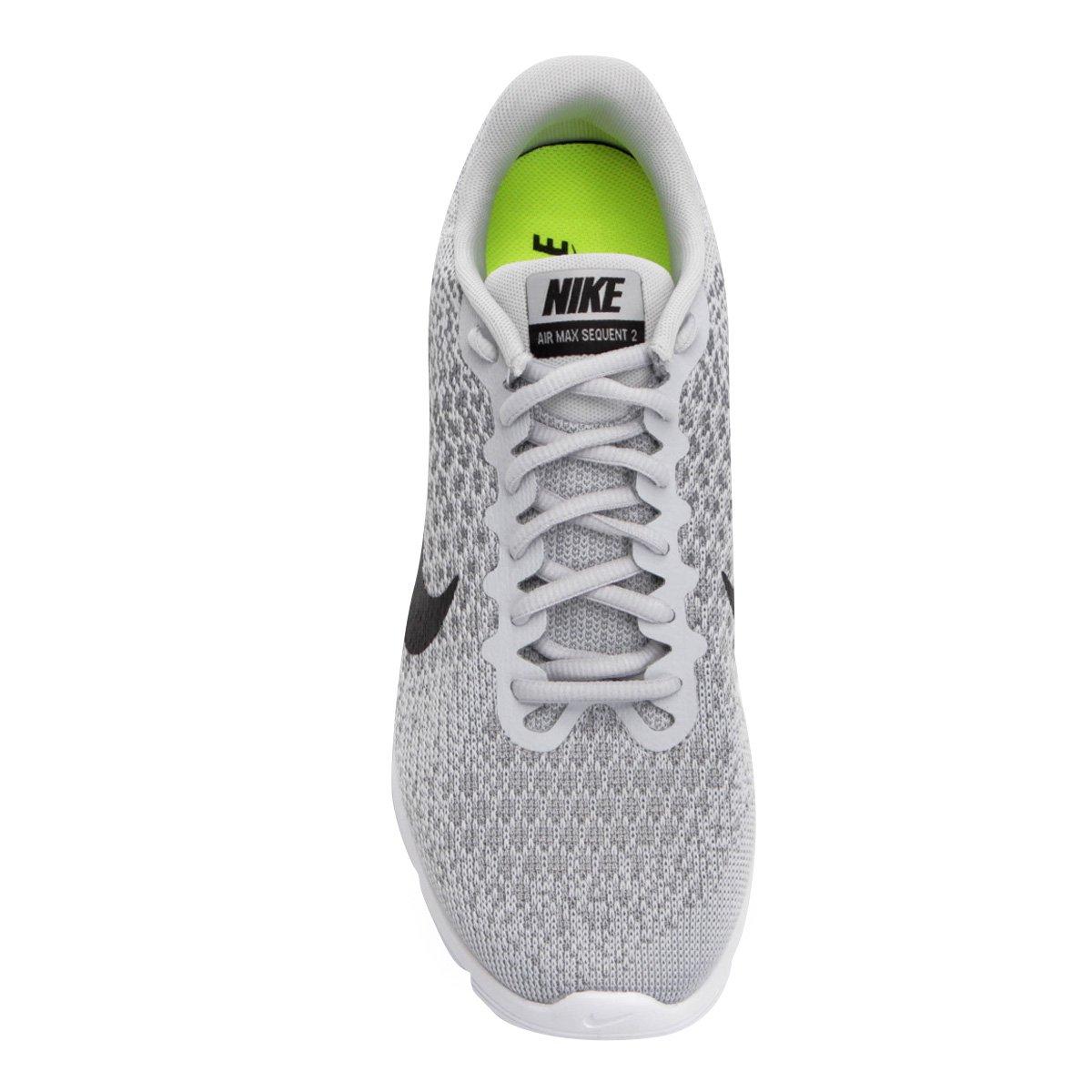 e Preto Max Sequent 2 Prata Masculino Air Tênis Nike x8w1PP0