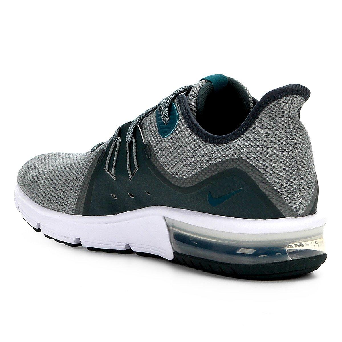 3f342951fc ... Tênis Nike Air Max Sequent 3 Masculino - Verde e Cinza - Compre .